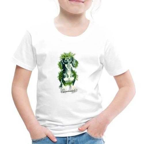 Grasdackel - Kinder Premium T-Shirt