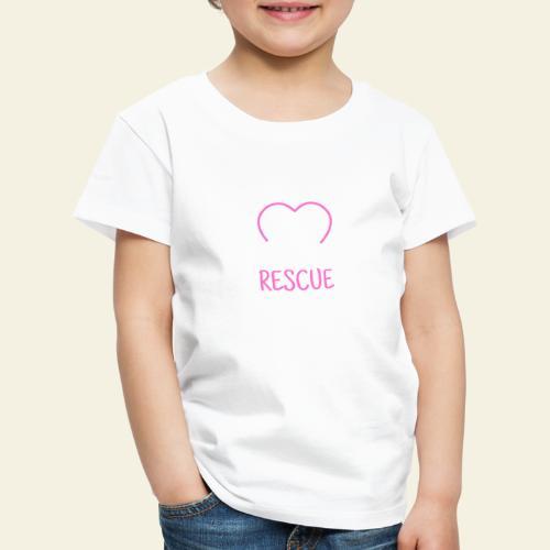 Rescue Mom - Lasten premium t-paita