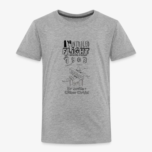 1stcontroled flight - T-shirt Premium Enfant