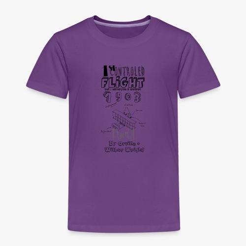 1stcontroled flight - T-shirt Premium Enfant