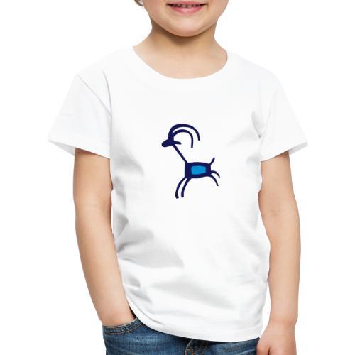lustige Ziege - Kinder Premium T-Shirt