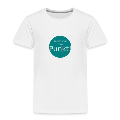 SOLO_punkt blau - Kinder Premium T-Shirt