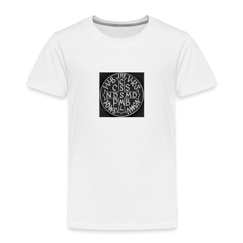 Protection St Benoit (petite) . 圣本笃的保护 - T-shirt Premium Enfant