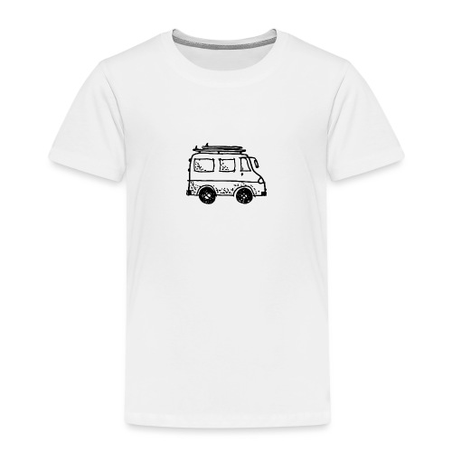 my tiny camper van - Kids' Premium T-Shirt