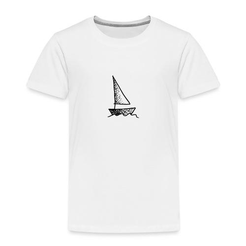 my tiny boat - Kids' Premium T-Shirt