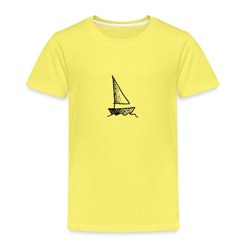my tiny boat - Kids' Premium T-Shirt