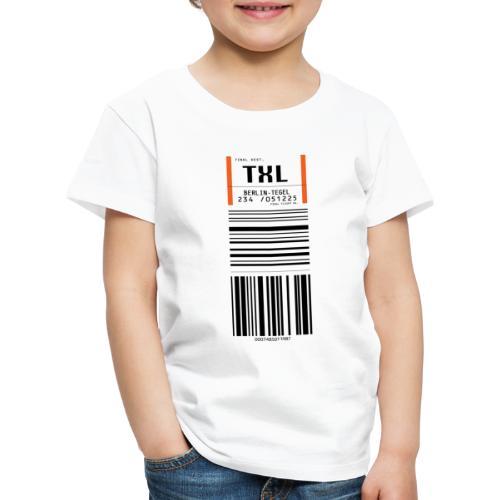 Berlin-Tegel TXL - Kinder Premium T-Shirt