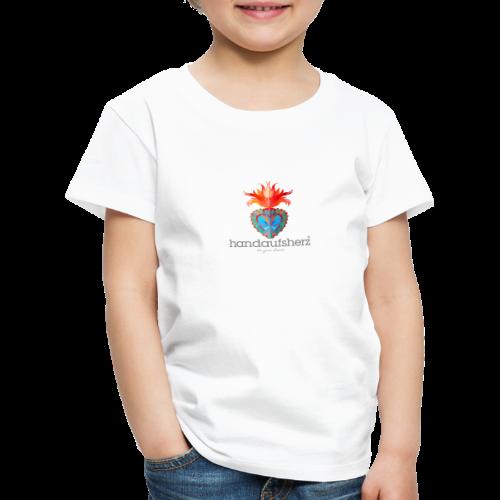 Hand aufs Herz - Kinder Premium T-Shirt