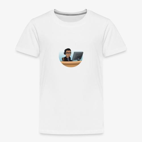 Gelangweilt im Büro - Kinder Premium T-Shirt