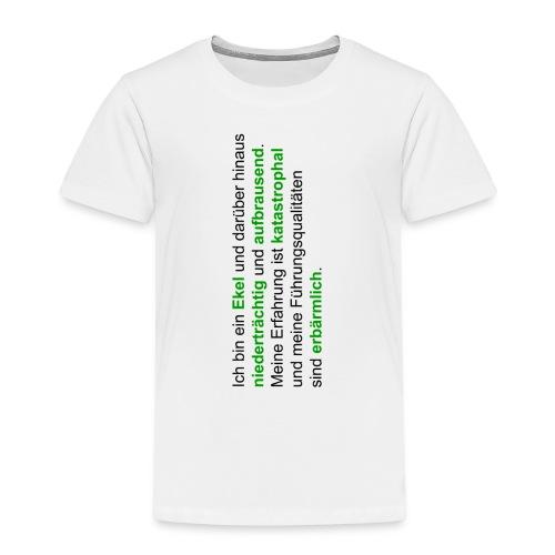 hattrickshirtekel - Kinder Premium T-Shirt