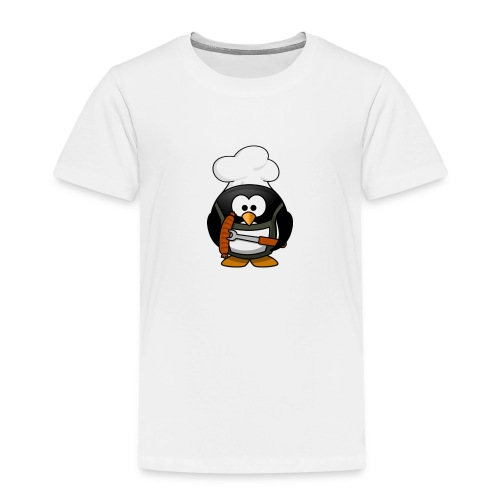 Grill Chef Pinguin - Kinder Premium T-Shirt
