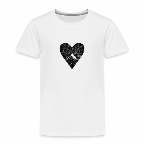 Bergliebe - used / vintage look - Kinder Premium T-Shirt