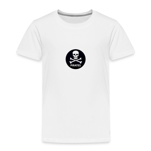 skull-and-bones-pirates-jpg - Kinderen Premium T-shirt
