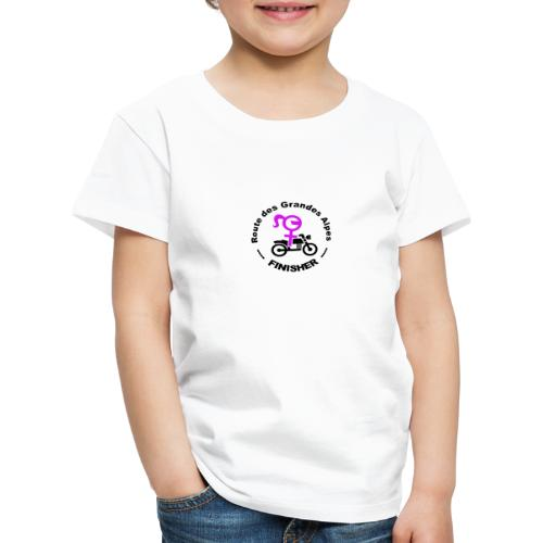 route des Grandes Alpes finisher girl - T-shirt Premium Enfant