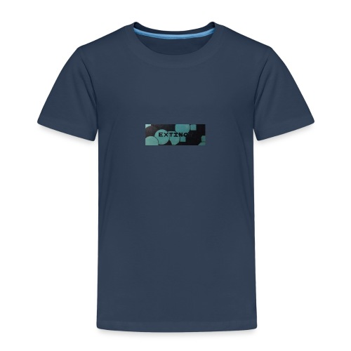 Extinct box logo - Kids' Premium T-Shirt