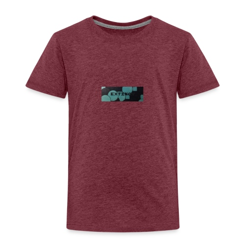 Extinct box logo - Kids' Premium T-Shirt