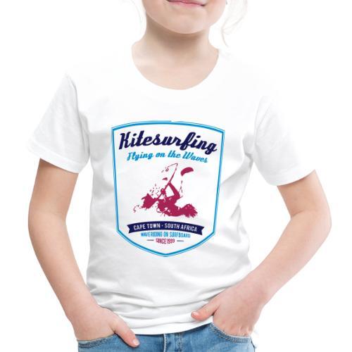 KITESURFING CAPE TOWN - Maglietta Premium per bambini