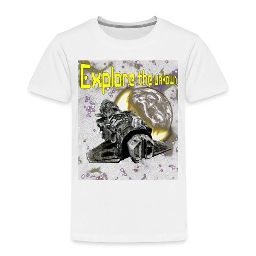 Explore the unknown - Kids' Premium T-Shirt