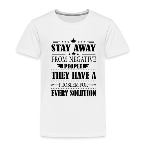Stay away - Lasten premium t-paita