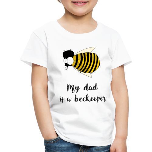 Mio padre è un apicoltore - Maglietta Premium per bambini