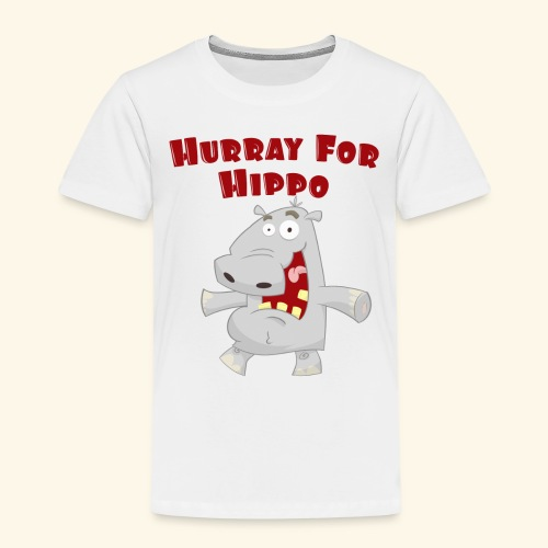 Toddlers & Kids Happy Hippo T Shirt - Kids' Premium T-Shirt
