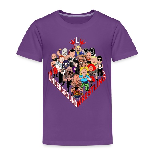 comics-wrestler - Kinder Premium T-Shirt