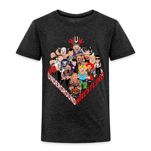 comics-wrestler - Kinder Premium T-Shirt