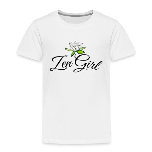 Zen Girl -Lotus Blomma - Prima Vera Design - Premium-T-shirt barn