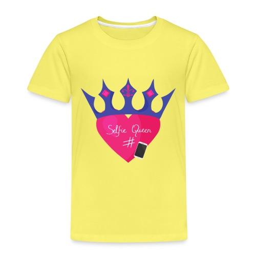 Humor Crown for real social media queens. - Kids' Premium T-Shirt