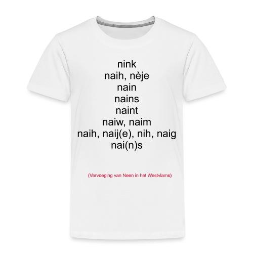 neen westvlaams - Kinderen Premium T-shirt