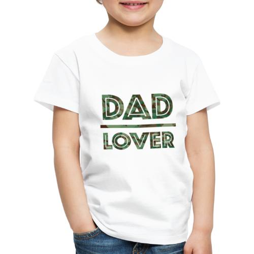 DAD LOVER - Premium-T-shirt barn
