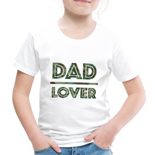 DAD LOVER - Premium-T-shirt barn