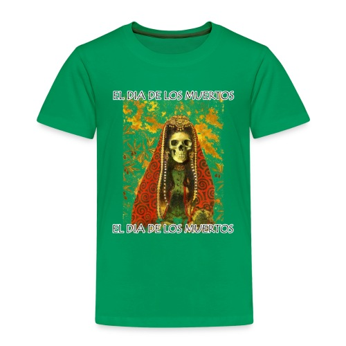 El Dia De Los Muertos Skeleton Design - Kids' Premium T-Shirt