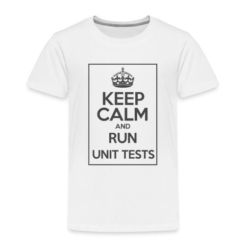 Run Unit Tests - Kids' Premium T-Shirt