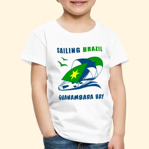 Sailing Brazil - Kids' Premium T-Shirt