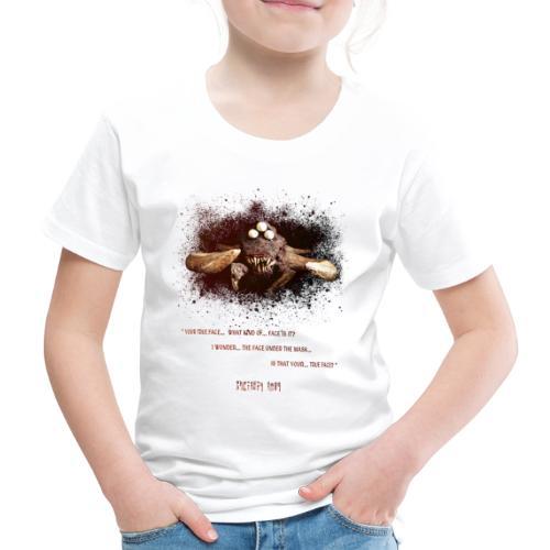 Desert Monster Mask | Lyrics Edition - Maglietta Premium per bambini