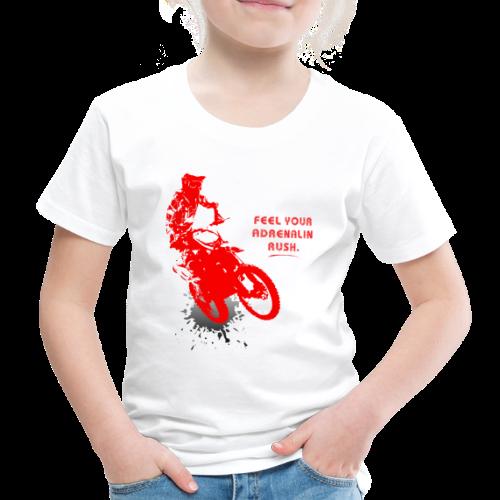 Adrenalinrausch | Motocross Geschenk Geschenkidee - Kinder Premium T-Shirt