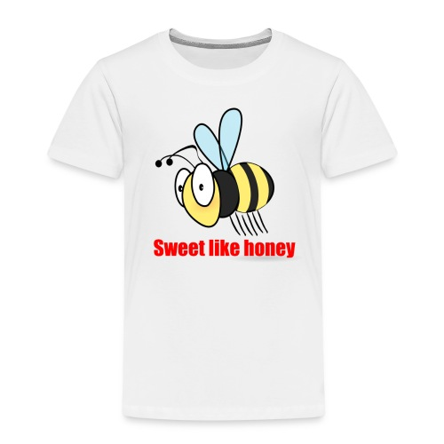 Sweet like honey - Biene - Kinder Premium T-Shirt