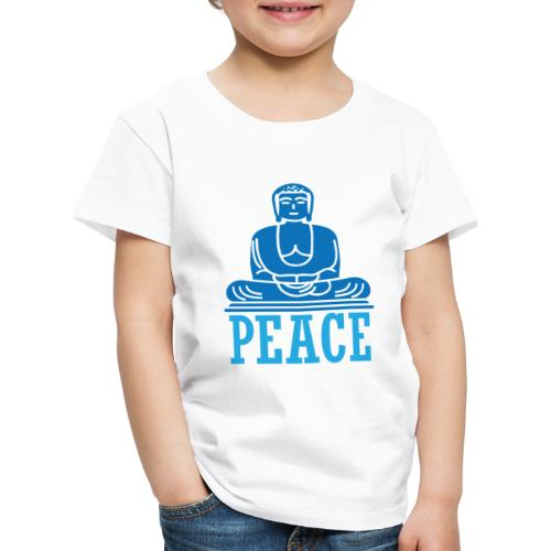 Buddha Meditating. - Kids' Premium T-Shirt