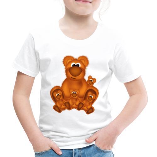 Bärige Mutterliebe - Kinder Premium T-Shirt