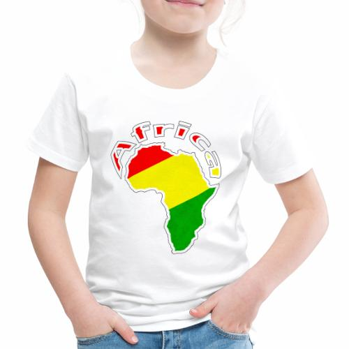 Afrika - rot gold grün - Kinder Premium T-Shirt