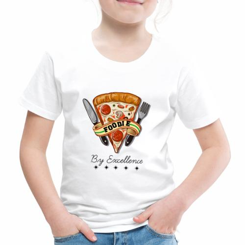 FOODIE BY EXCELLENCE - Camiseta premium niño