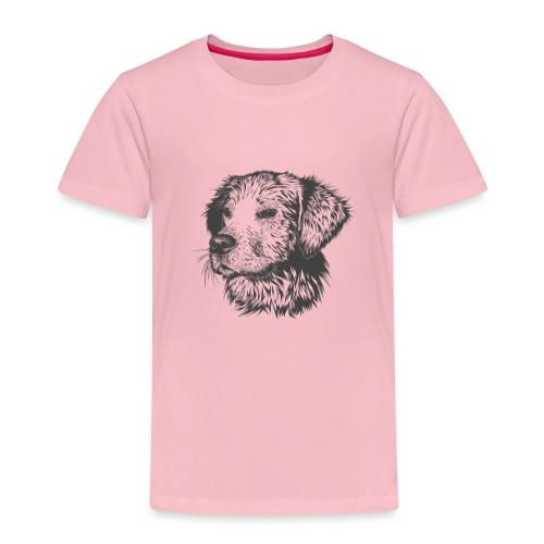 koiran kuva - Lasten premium t-paita