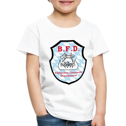 Inoffizielles bayrisches Feuerwehrabzeichen - Kinder Premium T-Shirt
