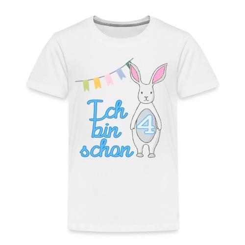 Ich bin schon 4 / Geschenk zum 4. Geburtstag. - Kinder Premium T-Shirt