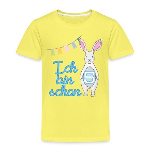 Ich bin schon 5 - Kinder Premium T-Shirt