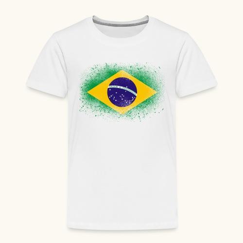 Drapeau brésilien cadeau du Brésil - T-shirt Premium Enfant