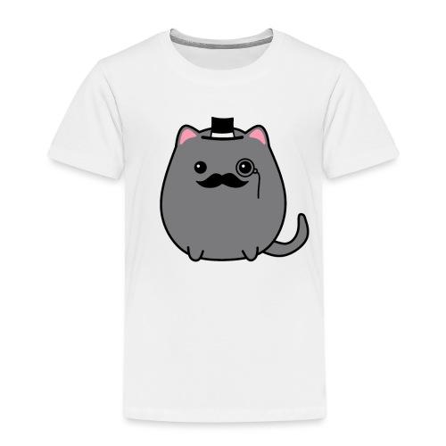 Gentleman Katze - Kinder Premium T-Shirt