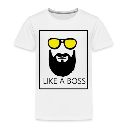 like a boss - T-shirt Premium Enfant
