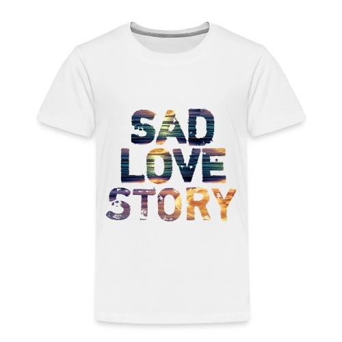feeling sad love story - T-shirt Premium Enfant